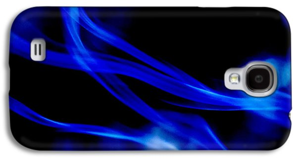 Poster Art Galaxy S4 Cases - Blue light Galaxy S4 Case by Jb Atelier