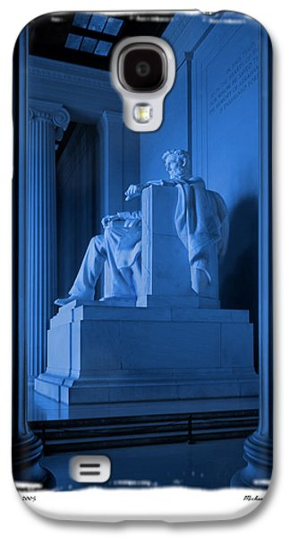 Blue Lincoln Galaxy S4 Case by Mike McGlothlen