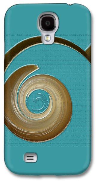 Blue Motion Galaxy S4 Case by Ben and Raisa Gertsberg