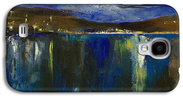 Luna Galaxy S4 Cases - Blue Nocturne Galaxy S4 Case by Michael Creese