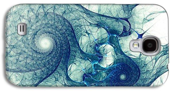 Blue Octopus Galaxy S4 Case by Anastasiya Malakhova