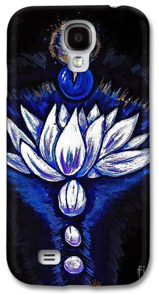 Blue Pearl Galaxy S4 Case by Lorah Buchanan
