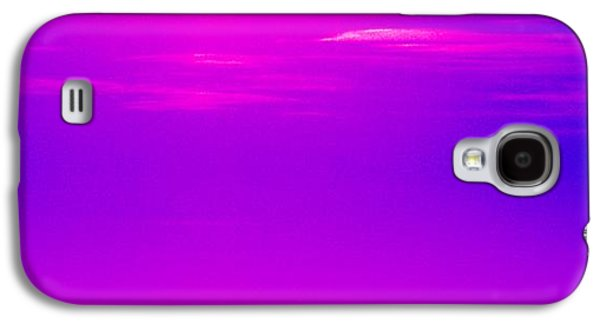 African-american Galaxy S4 Cases - Blue Pink Galaxy S4 Case by Anita Lewis