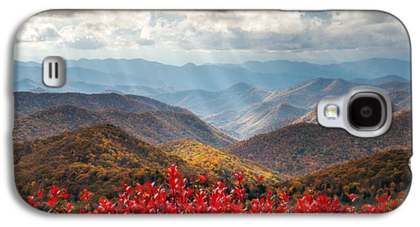 Blue Ridge Parkway Fall Foliage - The Light Galaxy S4 Case by Dave Allen