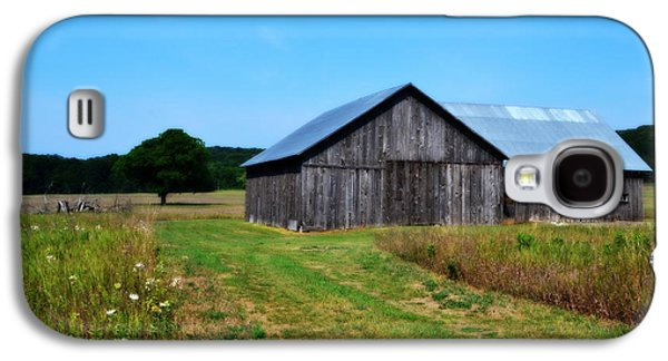 Outbuildings Galaxy S4 Cases - Blue Skies  Galaxy S4 Case by Michelle Calkins