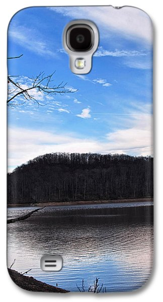 Landscape Posters Galaxy S4 Cases - Blue Skies Over Beech Fork Lake Galaxy S4 Case by Chris Flees