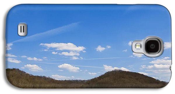 Landscape Posters Galaxy S4 Cases - Blue Skies Over The Ohio River Galaxy S4 Case by Chris Flees