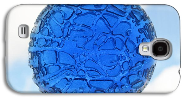 Blue Abstracts Sculptures Galaxy S4 Cases - Blue Sky Galaxy S4 Case by Daniel P Cronin