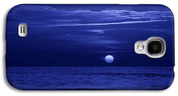 Panama City Beach Galaxy S4 Cases - Blue Sunset Galaxy S4 Case by Sandy Keeton