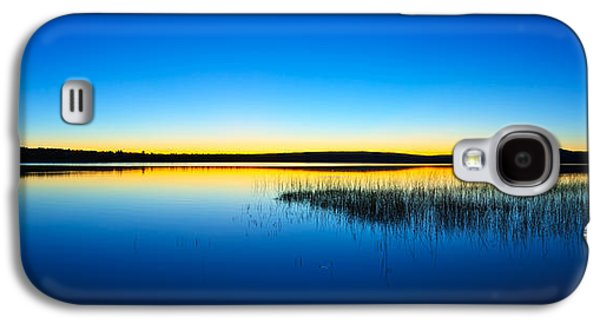 Photographic Art Galaxy S4 Cases - Blue Twilight Panorama Galaxy S4 Case by Bill Caldwell -        ABeautifulSky Photography