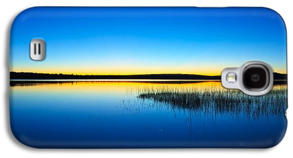 Bill Caldwell Galaxy S4 Cases - Blue Twilight Panorama Galaxy S4 Case by Bill Caldwell -        ABeautifulSky Photography