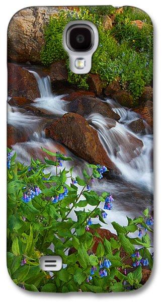 Darren Galaxy S4 Cases - Bluebell Creek Galaxy S4 Case by Darren  White