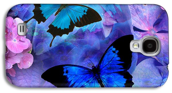 Fantasy Photographs Galaxy S4 Cases - Bluebelles Galaxy S4 Case by Alixandra Mullins