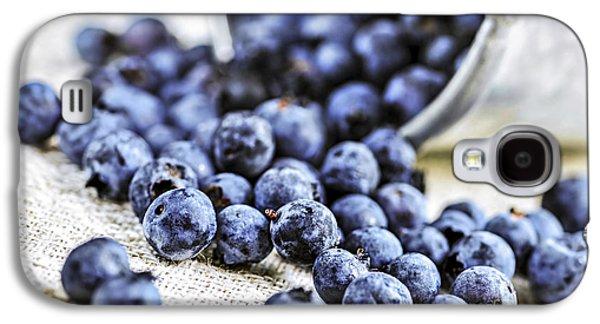 Blueberries Galaxy S4 Case by Elena Elisseeva