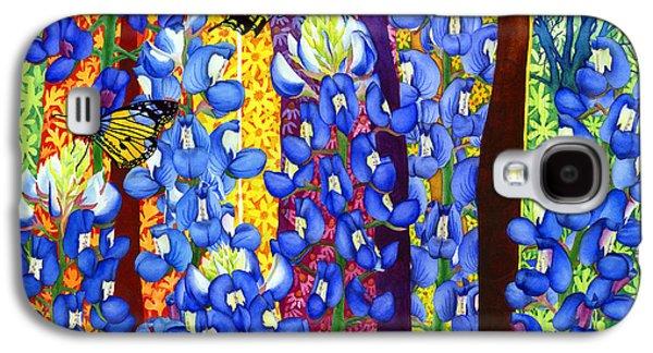 Bluebonnet Garden Galaxy S4 Case by Hailey E Herrera
