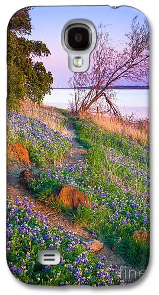 Mounds Galaxy S4 Cases - Bluebonnet Trail Galaxy S4 Case by Inge Johnsson