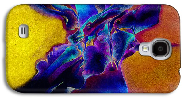 Trippy Drawings Galaxy S4 Cases - Bluebox Galaxy S4 Case by Bodhi