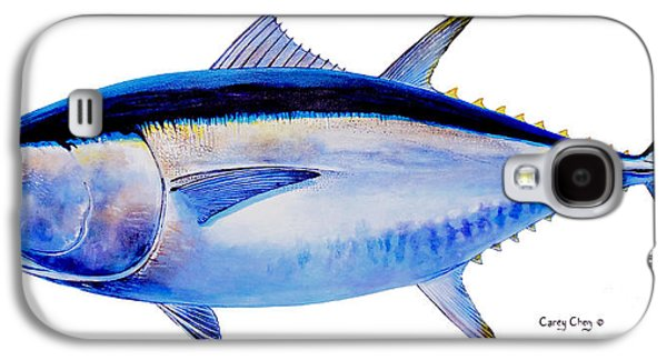 Bluefin Tuna Galaxy S4 Case by Carey Chen