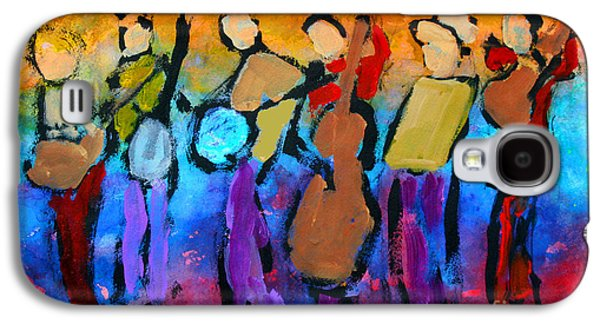 Bluegrass Band Galaxy S4 Case by Mordecai Colodner