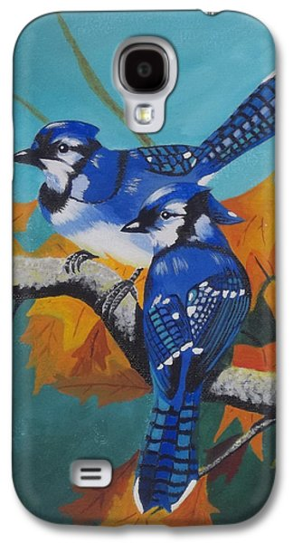 Etc. Paintings Galaxy S4 Cases - Blues Hangout Galaxy S4 Case by Gregory Murray