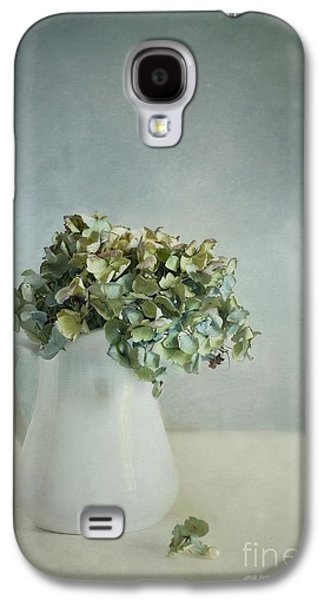 Dried Photographs Galaxy S4 Cases - Blues Galaxy S4 Case by Priska Wettstein