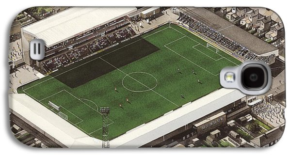 Art Mobile Galaxy S4 Cases - Blundell Park - Grimsby Town Galaxy S4 Case by Kevin Fletcher
