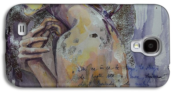 Paiting Galaxy S4 Cases - Blurred Mood Galaxy S4 Case by Dorina  Costras