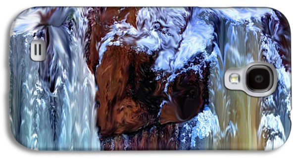 Dreamscape Galaxy S4 Cases - Blurring the Colorline Galaxy S4 Case by Wayne King