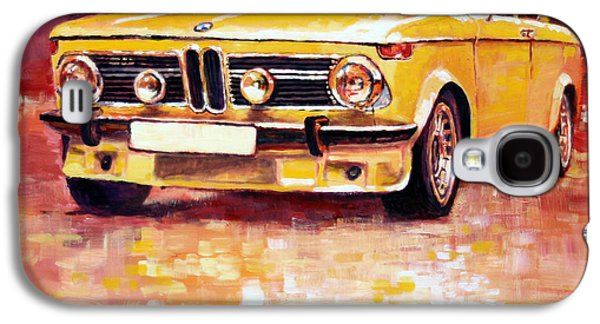 Legend Paintings Galaxy S4 Cases - BMW 2002 Turbo Galaxy S4 Case by Yuriy Shevchuk