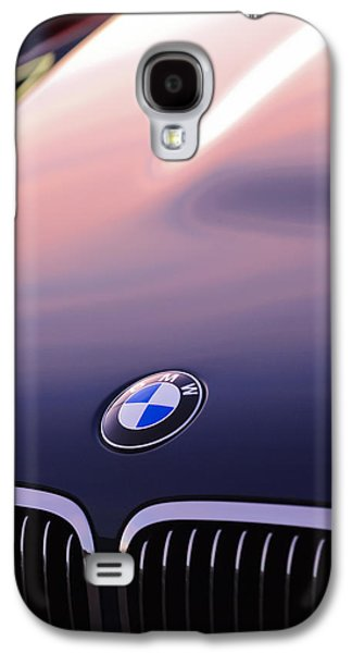 Imagery Galaxy S4 Cases - BMW Hood Emblem Galaxy S4 Case by Jill Reger