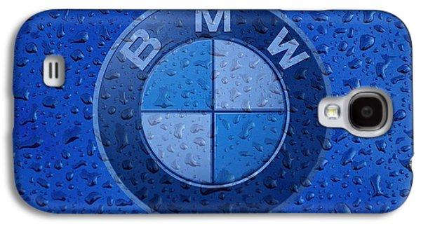 Sports Photographs Galaxy S4 Cases - B M W Rainy Window Visual Art Galaxy S4 Case by Movie Poster Prints