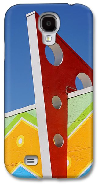 Santa Cruz Art Galaxy S4 Cases - Boardwalk Architecture Galaxy S4 Case by Art Block Collections