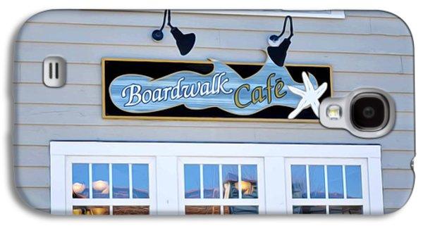 Boardwalk Cafe Galaxy S4 Case by Lanjee Chee