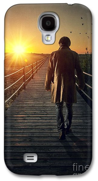 Thoughtful Photographs Galaxy S4 Cases - Boardwalk Galaxy S4 Case by Carlos Caetano