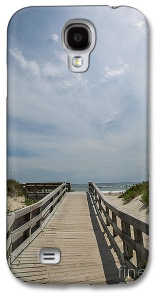 Kaypickens.com Galaxy S4 Cases - Boardwalk to the Beach Galaxy S4 Case by Kay Pickens