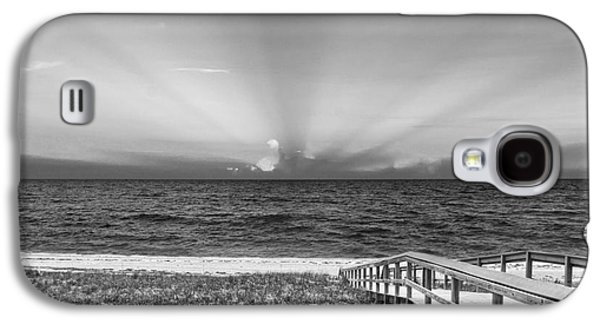 Quiet Time Galaxy S4 Cases - Boardwalk to the Sea Galaxy S4 Case by Michelle Wiarda