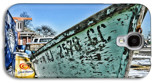 Boats At Dock Galaxy S4 Cases - Boat - In a State of Decay Galaxy S4 Case by Paul Ward