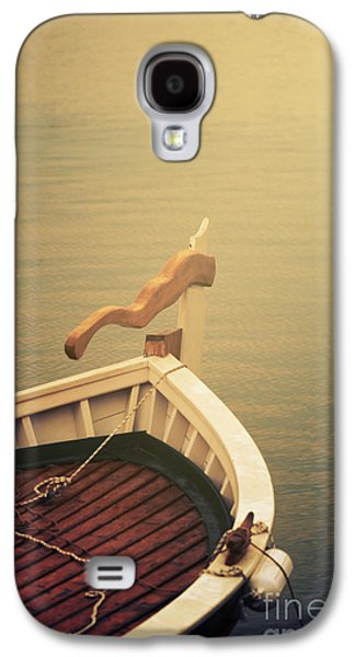 Light Pyrography Galaxy S4 Cases - Boat Galaxy S4 Case by Jelena Jovanovic