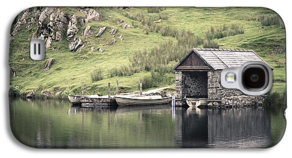Shed Photographs Galaxy S4 Cases - Boathouse Galaxy S4 Case by Jane Rix