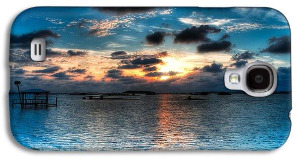 Cedar Key Galaxy S4 Cases - Boathouse on Cedar Key Galaxy S4 Case by Rich Leighton