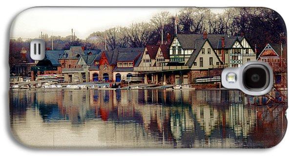 Boathouse Row Philadelphia Galaxy S4 Case by Tom Gari Gallery-Three-Photography
