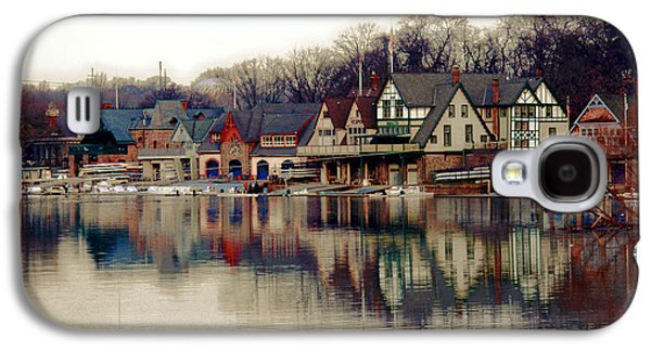 Schuylkill Galaxy S4 Cases - BoatHouse Row Philadelphia Galaxy S4 Case by Tom Gari Gallery-Three-Photography