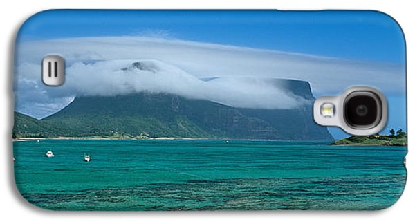 Boats On Water Galaxy S4 Cases - Boats Floating In The Sea, Lord Howe Galaxy S4 Case by Panoramic Images