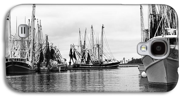 Transportation Photographs Galaxy S4 Cases - Boats in the Harbor Galaxy S4 Case by Robert Yaeger
