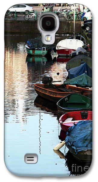 Boats In Water Galaxy S4 Cases - Boats in the Red Light District Galaxy S4 Case by John Rizzuto