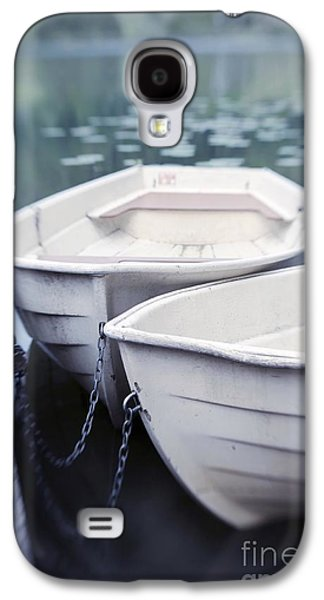 Transportation Photographs Galaxy S4 Cases - Boats Galaxy S4 Case by Priska Wettstein