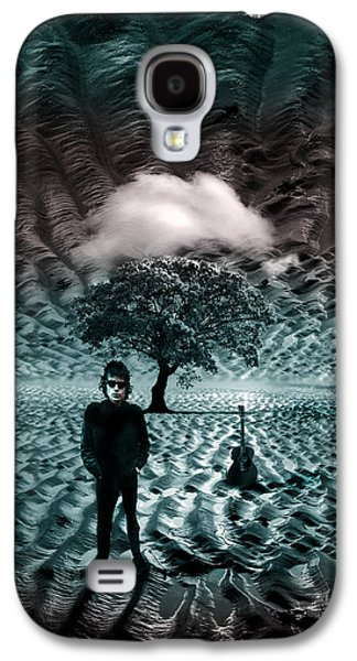 Recently Sold -  - Surreal Landscape Galaxy S4 Cases - Bob Dylan A Hard Rains A-Gonna Fall Galaxy S4 Case by Mal Bray