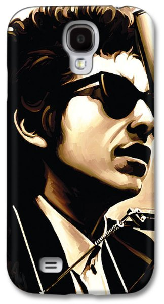 Bob Dylan Artwork 3 Galaxy S4 Case by Sheraz A