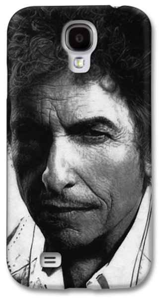 Blood Drawings Galaxy S4 Cases - Bob Dylan  Galaxy S4 Case by Justin Clark