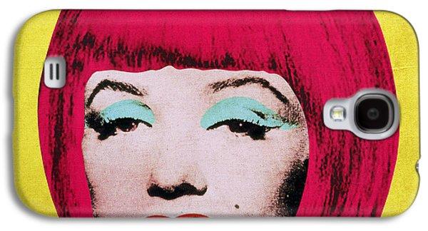 Hairstyle Digital Galaxy S4 Cases - Bob Marilyn  variant 1 Galaxy S4 Case by Filippo B